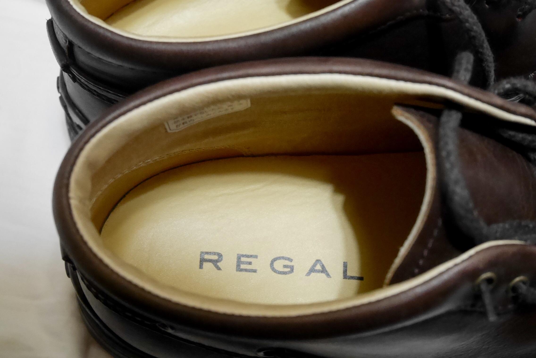 REGALの革靴で歩いた時に音が鳴るのを防ぐ
